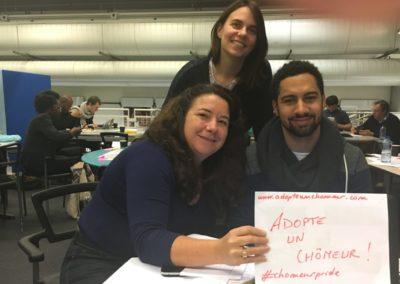 Cap mentorat « ambassadeur » auprès des finalistes du premier Hackathon pour l'Emploi les 18 et 19 novembre 2016 à Paris